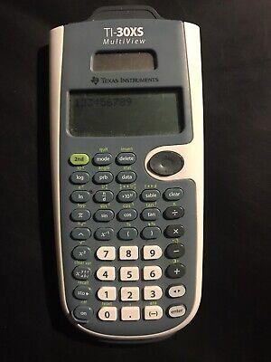 Pink Texas Instruments TI-30XS Multiview Scientific Calculator