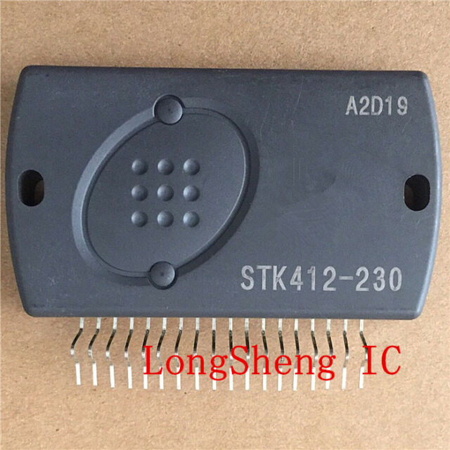 1PCS STK412-230C Encapsulation:SIP-ZIP,Two-Channel Shift Power Supply Audio new