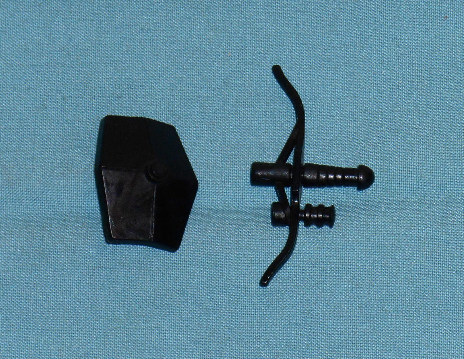 Vintage Mego Micronauts Centaure Bouclier & nœud lot pièces armes