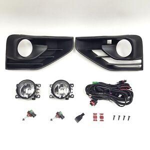 details about clear lens fog lights for 17 18 nissan pathfinder sv sl bezel wiring switch new Dodge Ram 1500 Fog Light Wiring