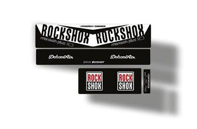STAR SAM® STICKERS ROCK SHOX MONARCH RT3 ADHESIVES STICKER