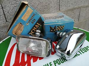 N.o.s Paire Phare Antibrouillard Marchal 651 Fantastic Mustang Shelby Ac Cobra Avoir à La Fois La Qualité De TéNacité Et De Dureté