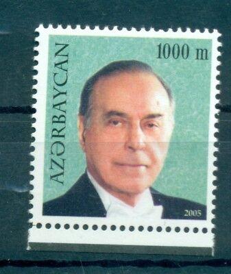 President Azerbaijan 2005 Common Stamp Personalita' Asia