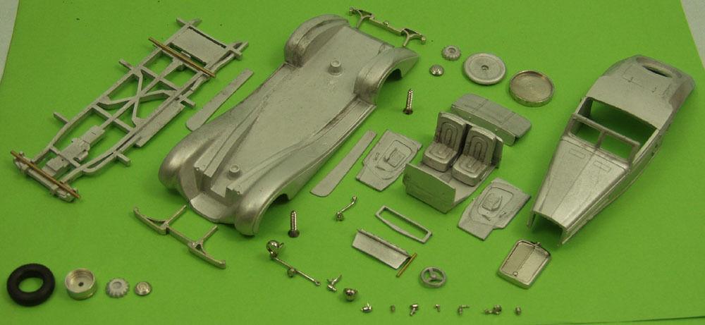 Maybach SW38 Roadster  Spohn  1939 Bausatz Weissmetall 1 43 Tin Wizard TW331-0    Deutschland Shops