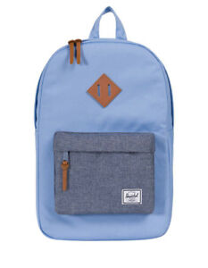 NEW-Herschel-Heritage-Mid-Volume-Zip-Around-Backpack-10019-Blue