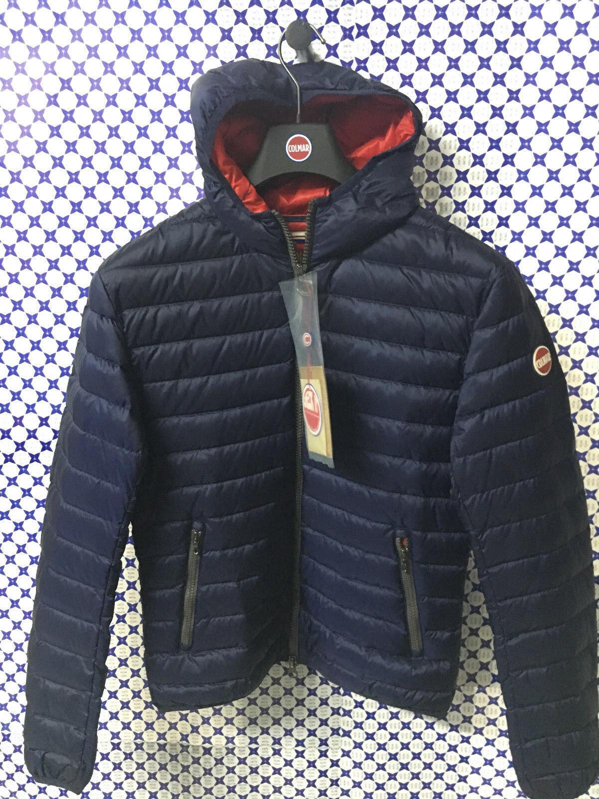 Piumino Bomber Colmar  Herren - 100 grammi Trapuntato Punk - Blu Rosso - 1277