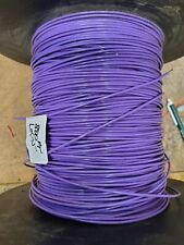 Teflon 18awg Tfe 18ga Violet Strand Wire Silv Plated Per 20ft Section Freeship