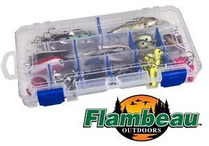 Flambeau-Zerust-3003-Tuff-Trainer-Lure-Spinner-Box-Fishing-18-Compartment-USA