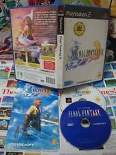 Playstation 2 PS2:Final Fantasy X [RARE COLLECTOR + DVD BONUS] COMPLET - Fr
