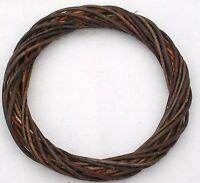 Wicker / Willow Wreath Ring- Dark Willow 12(30cm) Dia.-pack Of 12