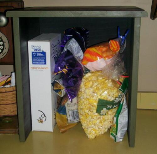 Primitive Farm House Wood Food Processor Appliance or  Food Storage Cover