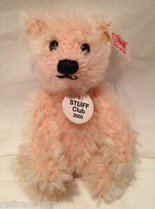 ❤️Miniature STEIFF Club 2003 7TH MEMBERSHIP GIFT TEDDY BEAR