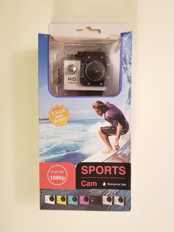 Waterproof HD 1080P Sports Action Camera Video Camera HD 1080P 12MP 25fps 30fps 1080p 12mp 25fps 30fps action camera Featured sports video waterproof