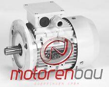 Energiesparmotor IE3, 0,75kW, 1500 U/min, B5, 80B, Elektromotor, Drehstrommotor