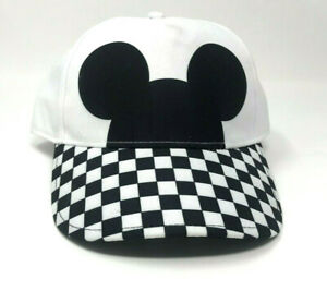 87fc7981b9eb6 Image is loading Vans-Disney-Mickey-Mouse-Checkerboard-Hat-Black-White-