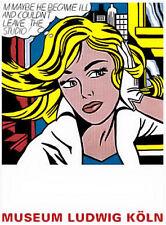 Roy Lichtenstein Maybe Poster Kunstdruck Bild 80x60cm - Kostenloser Versand
