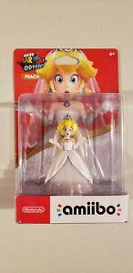 Details About Nintendo Switch Super Mario Odyssey Amiibo Princess Peach Wedding Dress Ship