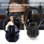 Electronic-Headphones-Ear-Muffs-Hearing-Protection-Noise-Shooter-Shooting-Safety thumbnail 1