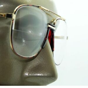 61646c454c Image is loading Double-Bridge-Aviator-Tortoise-Frame-Classic-Half-Bifocal-