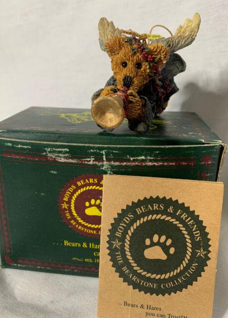 Boyds Bears Retired Bear Faith Christmas Ornament with ...