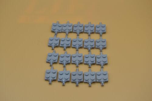 LEGO 20 x Achse 2x2 Achsplatte neuhell grau newlight grey axis plate 4600