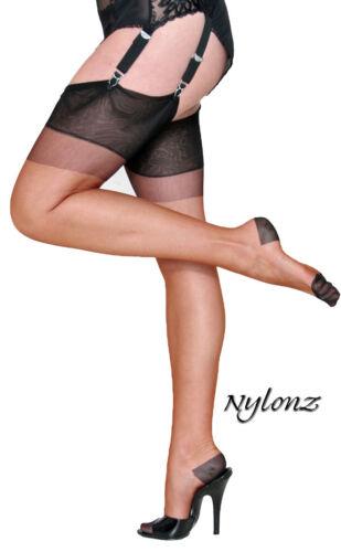 imperfects NYLONZ Eleganti RHT Stockings // Nylons COPPER // BLACK CONTRAST