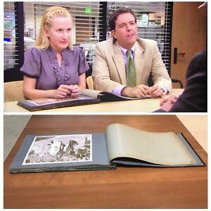 The-Office-Screen-Used-Dwight-Schrute-Family-Wedding-Album-Original-Hero-Prop
