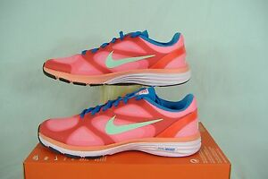 """New Womens 9 NIKE """"Dual Fusion TR Breathe"""" Atomic Pink Red Running Shoes $75"""