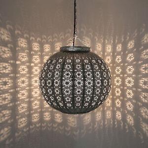 Orientalische Lampe Marokkanische Deckenlampe Hängeleuchte 38cm ...