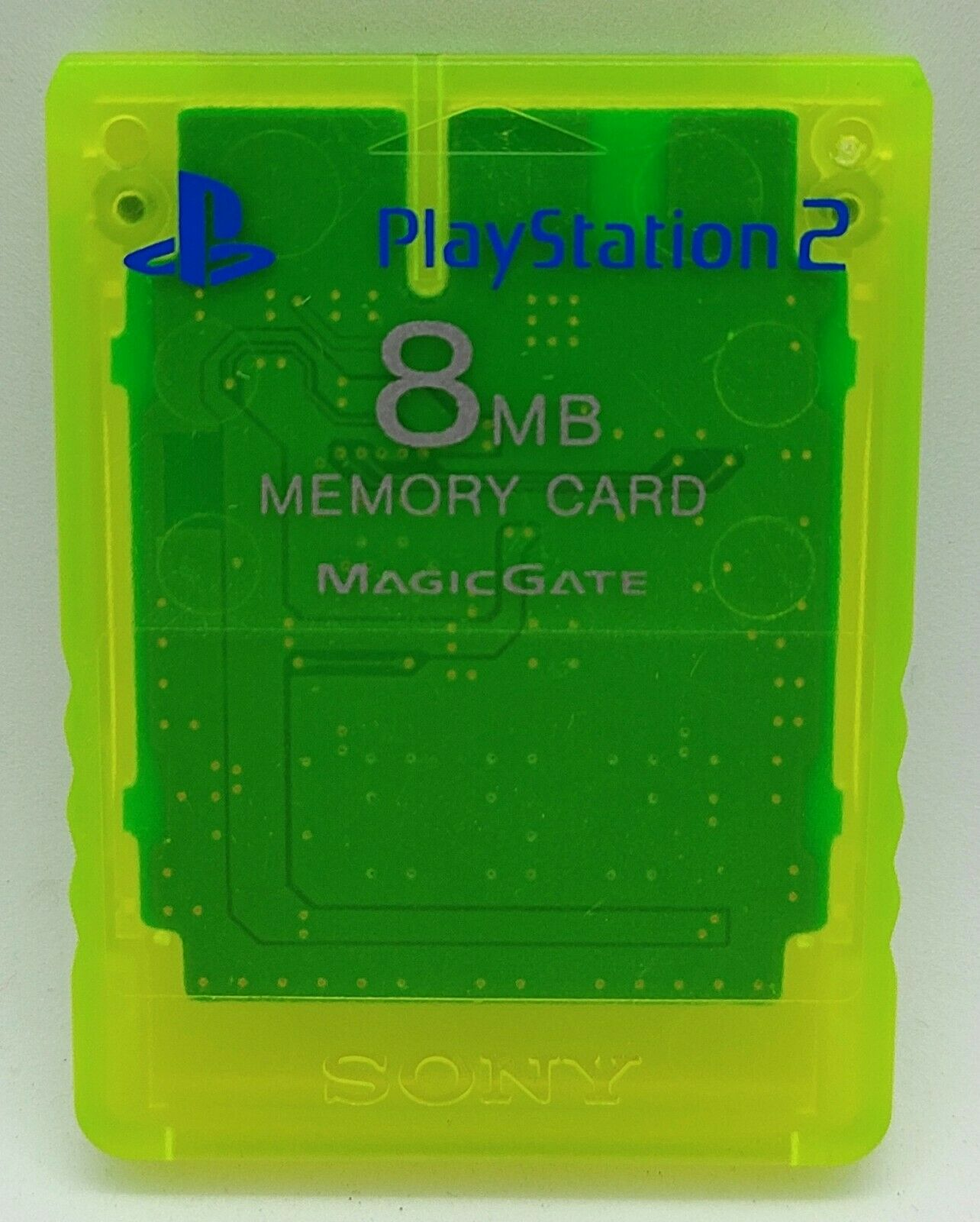 Official Genuine Lemon Magic Gate Memory Card for Sony PlayStation 2 PS2 8MB