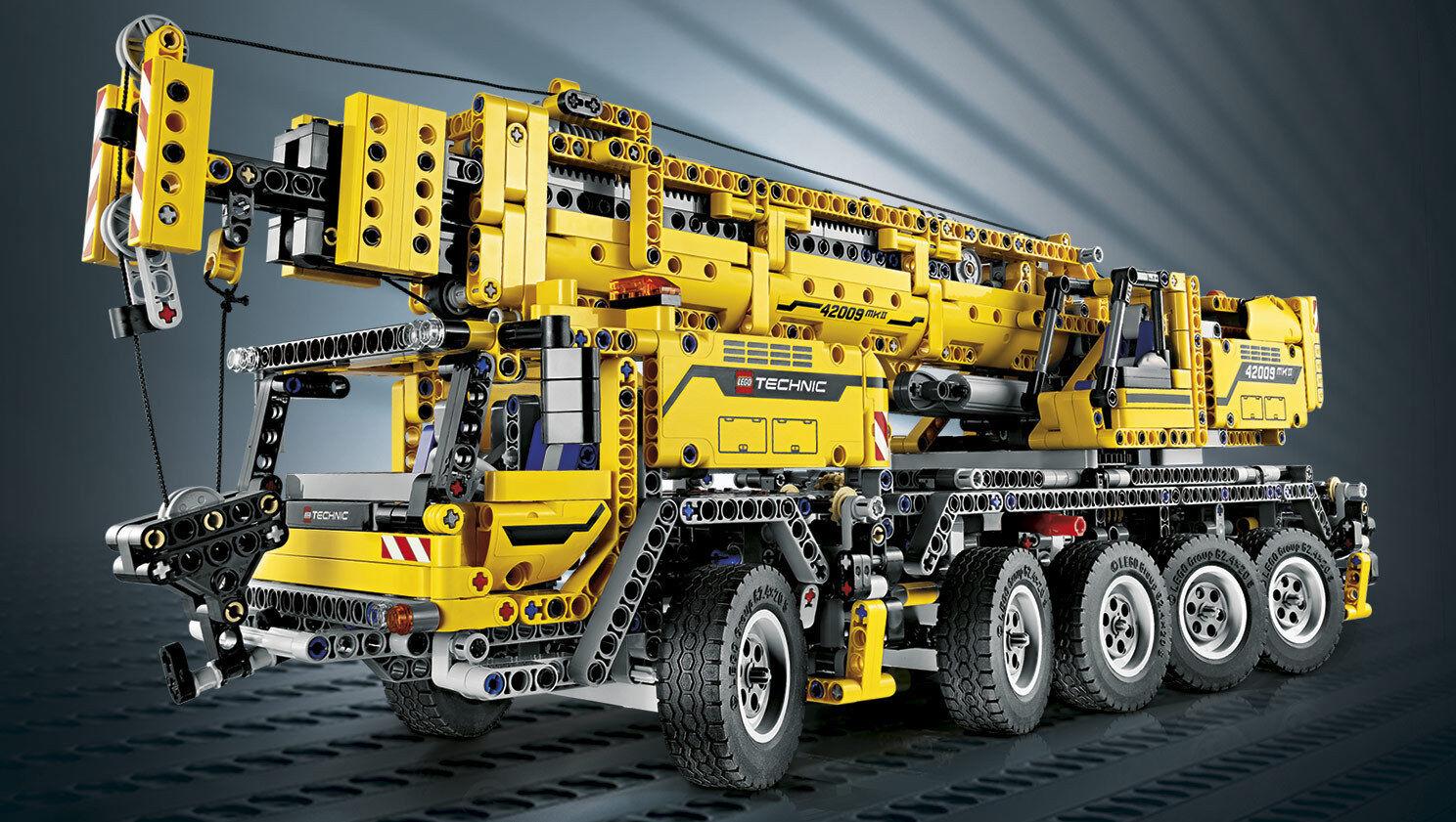 Lego Technic 42009 - Mobiler Schwerlastkran mit Bauanleitung u.ohne OVP