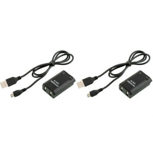 2X-4800mAh-Battery-Pack-USB-Charger-Cable-for-Xbox-360-Wireless-Controller