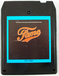 """The Original Soundtrack from the Musical """"FAME"""" 1980 8-Track Tape, Tested MGM"""