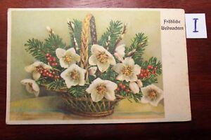 Candide Carte Postale Vue Carte Motifs Félicitations Fleurs-afficher Le Titre D'origine