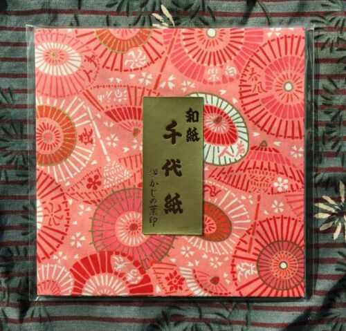 20 designs-scroll 2 select Japanese Yuzen Chiyogami washi origami paper 12cm