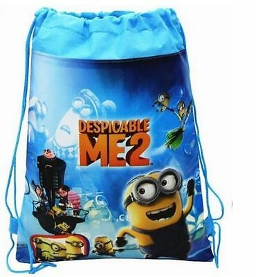 Child Boy School Bag Environmental Drawstring Swimming PE Toy Pop Backpack