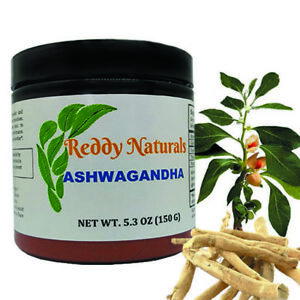 Details about Reddy Naturals Ashwagandha Honey Flavored Powder Sleep,  Anxiety & Stress Relief