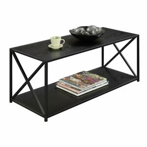 Convenience Concepts Tucson Coffee Table in Black