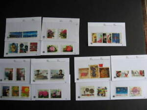 Canada-wee-sales-cards-collection-of-2008-10-U-issues