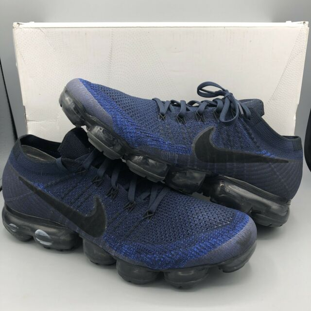 reputable site 0d753 a6621 Nike Air Vapormax Flyknit 849558-400 Midnight Navy Size 11 Max Premium