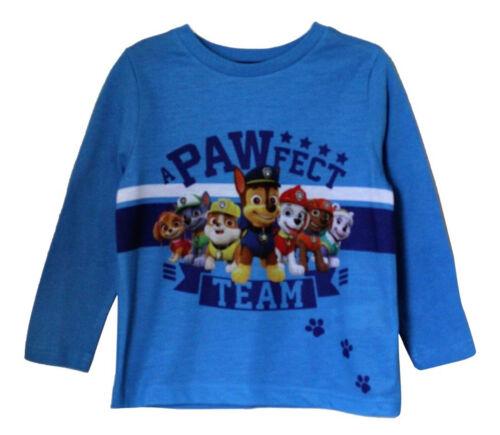 TM Paw Patrol Licensed Full Sleeves T Shirt in Blue for Boys Kids Children