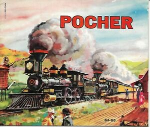 Complexé Pocher Catalogue 1964/65-afficher Le Titre D'origine Plus De Rabais Sur Les Surprises