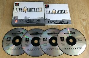 Final-Fantasy-IX-9-For-Sony-Playstation-1-PSOne-PS1-Boxed-With-Manual