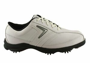 NEW-CALLAWAY-C-TECH-SADDLE-MENS-LACE-UP-GOLF-SHOES
