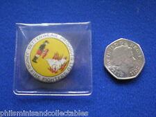Betterwear Junior Fire Fighters  pin badge - 1960s
