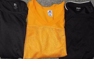 Fila, Russell Athletic & Starter LOT 3 Men Medium Fitness Tee Shirts (LOT 2387)