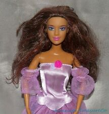 RARE 2006 Barbie 12 Dancing Princesses Ashlyn Tango Face Tan Redhead Lilac Eyes