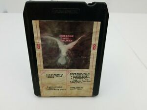 Emerson Lake And Palmer 8 Track Tape Self Titled Lucky Man Take A Pebble Works