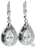 Joseph Esposito Solid 925 Sterling Silver Tear Drop Earrings '