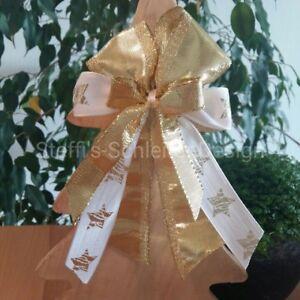 10 Weihnachtsschleifen Christbaumschmuck Weihnachten Deko Schleifen